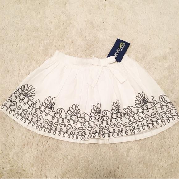 b19c48fdd92 Genuine Kids From Oshkosh Embroidered Skirt NWT